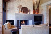 Фото 5 Темный потолок в интерьере: 80 роскошных и строгих дизайнерских вариантов