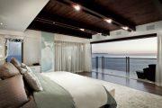Фото 46 Темный потолок в интерьере: 80 роскошных и строгих дизайнерских вариантов