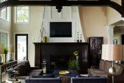 Фото 47 Темный потолок в интерьере: 80 роскошных и строгих дизайнерских вариантов