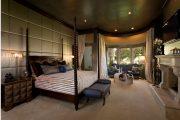 Фото 52 Темный потолок в интерьере: 80 роскошных и строгих дизайнерских вариантов
