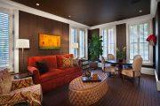 Фото 54 Темный потолок в интерьере: 80 роскошных и строгих дизайнерских вариантов