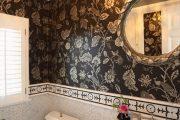 Фото 60 Темный потолок в интерьере: 80 роскошных и строгих дизайнерских вариантов