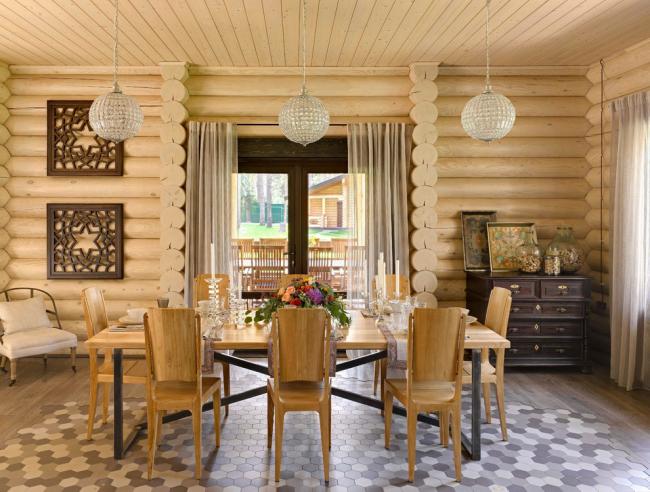 Отделка стен деревом станет лучшим средством для сбережения тепла в домах, расположенных в суровых климатических условиях