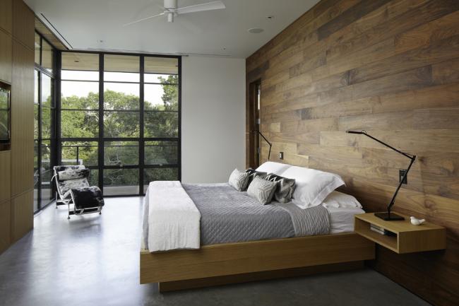 Отделка стен деревом - основа эко-стиля