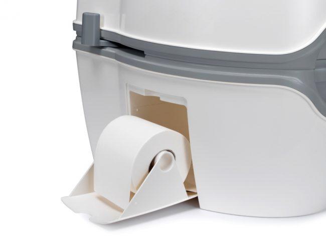 Отсек для туалетной бумаги - приятное дополнение, которым может похвастаться далеко не каждая модель