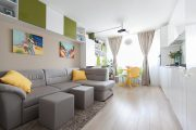 Фото 9 Дизайн спальни-гостиной площадью 18 кв. м: продуманные идеи для комфорта и экономии пространства