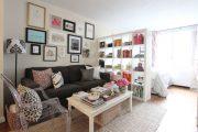 Фото 28 Дизайн спальни-гостиной площадью 18 кв. м: продуманные идеи для комфорта и экономии пространства