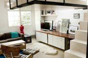 Фото 36 Дизайн спальни-гостиной площадью 18 кв. м: продуманные идеи для комфорта и экономии пространства