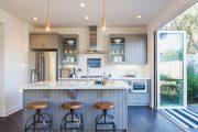 Фото 5 Складная дверь на кухню: в поисках достойной альтернативы традиционности