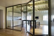 Фото 43 Складная дверь на кухню: в поисках достойной альтернативы традиционности