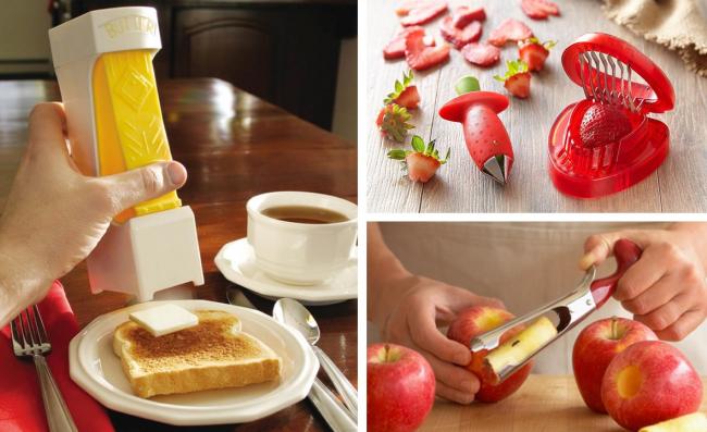 Гаджеты для кухни не перестают удивлять своей уникальностью и изобретательностью