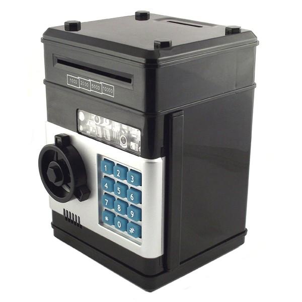 Электронная копилка-сейф с функцией подсчета денег