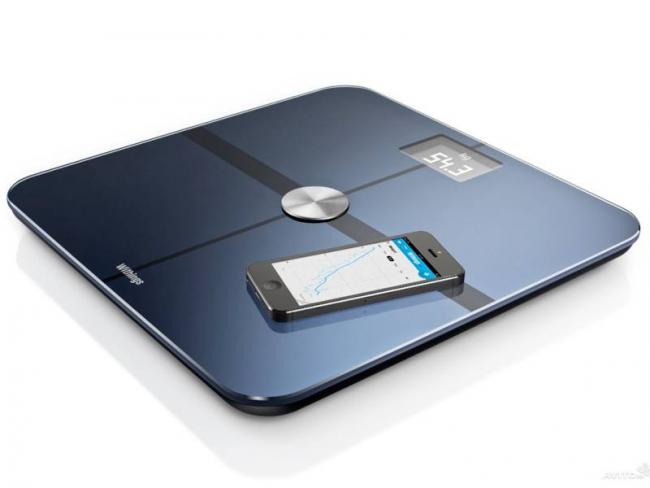 Withings Smart Body Analyzer WS-50 с Wi-Fi модулем и Bluetooth 4.0 для iPhone/iPad - этот стильный аксессуар, который будет полезен каждому, кто следит за своим весом и без лишней мороки желает отслеживать динамику его изменений во времени
