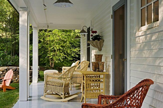 Экологичность - главное достоинство плетенной мебели