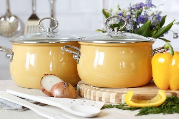 Как очистить пригоревшую эмалированную кастрюлю: эмалированные кастрюли от европейского производителя