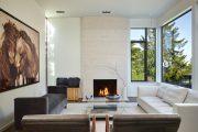 Фото 6 Камин в интерьере квартиры: 85+ роскошных вариантов в современном и классическом дизайне