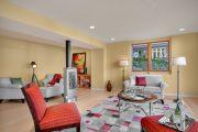Фото 9 Камин в интерьере квартиры: 85+ роскошных вариантов в современном и классическом дизайне