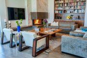 Фото 3 Камин в интерьере квартиры: 85+ роскошных вариантов в современном и классическом дизайне