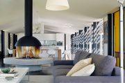 Фото 29 Камин в интерьере квартиры: 85+ роскошных вариантов в современном и классическом дизайне