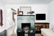 Фото 33 Камин в интерьере квартиры: 85+ роскошных вариантов в современном и классическом дизайне