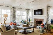 Фото 35 Камин в интерьере квартиры: 85+ роскошных вариантов в современном и классическом дизайне