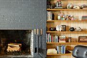 Фото 44 Камин в интерьере квартиры: 85+ роскошных вариантов в современном и классическом дизайне