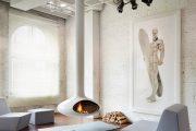 Фото 2 Камин в интерьере квартиры: 85+ роскошных вариантов в современном и классическом дизайне