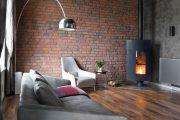 Фото 46 Камин в интерьере квартиры: 85+ роскошных вариантов в современном и классическом дизайне