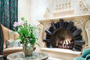Фото 47 Камин в интерьере квартиры: 85+ роскошных вариантов в современном и классическом дизайне