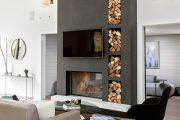 Фото 48 Камин в интерьере квартиры: 85+ роскошных вариантов в современном и классическом дизайне