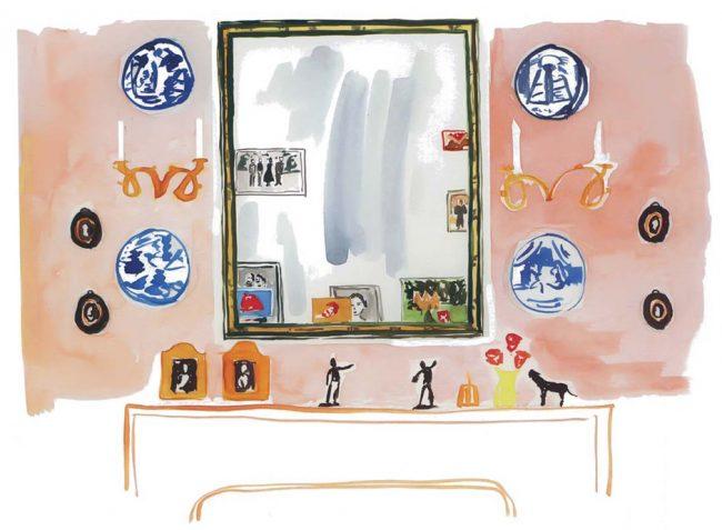 """Деборы Нидлман: """"Если хотите сделать темную комнату светлее, повесьте зеркало на стену, перпендикулярную окну, а не на противоположную, как это часто делают"""""""