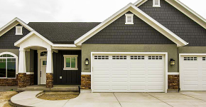 Проект дома с двумя гаражами: выбираем лучшее готовое решение для строительства фото