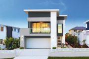 Фото 10 Проект дома с двумя гаражами: выбираем лучшее готовое решение для строительства