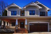 Фото 13 Проект дома с двумя гаражами: выбираем лучшее готовое решение для строительства