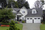 Фото 24 Проект дома с двумя гаражами: выбираем лучшее готовое решение для строительства