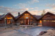 Фото 30 Проект дома с двумя гаражами: выбираем лучшее готовое решение для строительства