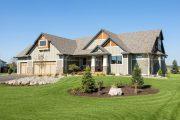 Фото 39 Проект дома с двумя гаражами: выбираем лучшее готовое решение для строительства