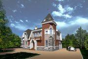 Фото 5 Королевское решение: проект дома-башни и 75 вариантов строительства современного замка