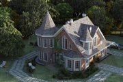 Фото 19 Королевское решение: проект дома-башни и 75 вариантов строительства современного замка