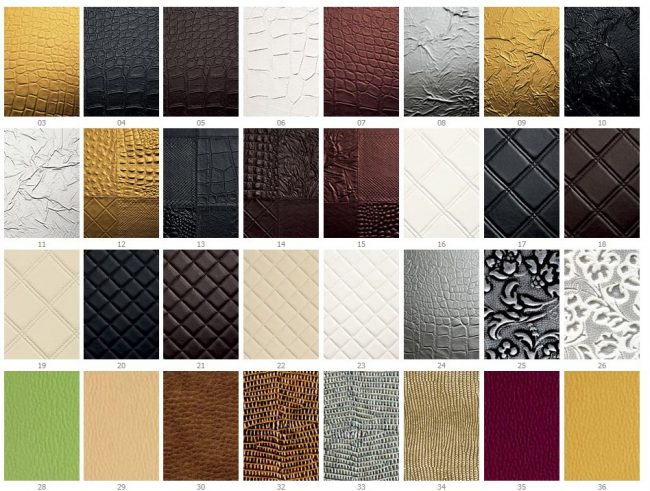 Многообразие текстур для оформления фасада шкафа практически не имеет границ