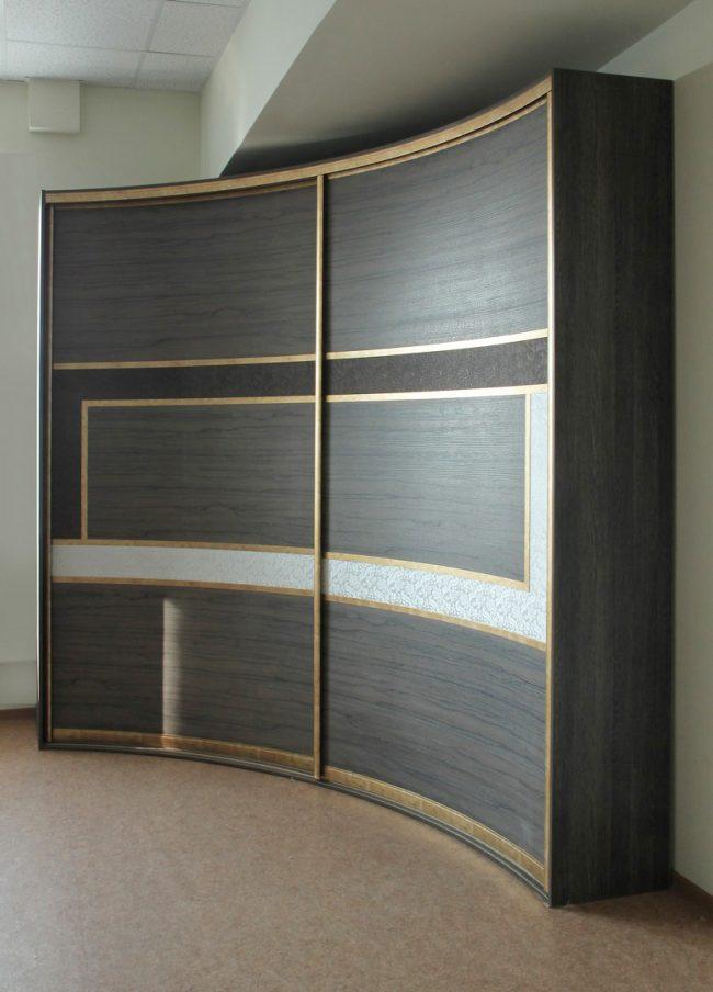 Радиусные шкафы-купе: фото: радиусная мебель – многообразие форм и обилие полезных качеств