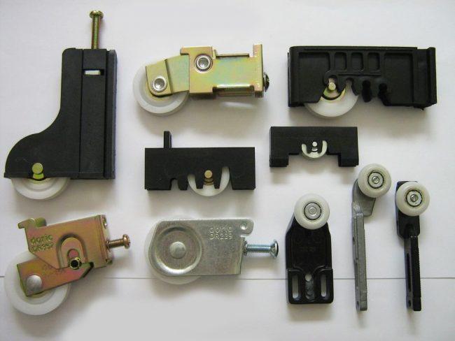 Роликовые системы для шкафов-купе