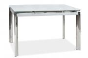 Фото 17 Стеклянный раздвижной стол для кухни: выбираем оптимальный вариант для интерьера