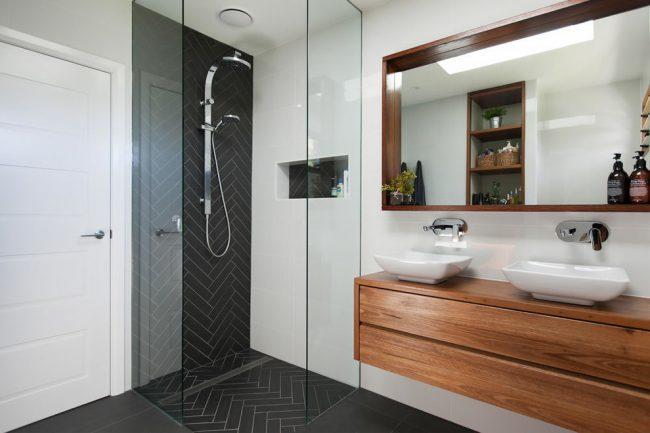 Красивая ванная комната в современном стиле