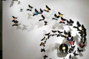 Фото 32 Бабочки на стене: 70 вдохновляющих фотоидей и мастер-класс по декору своими руками