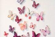 Фото 25 Бабочки на стене: 70 вдохновляющих фотоидей и мастер-класс по декору своими руками