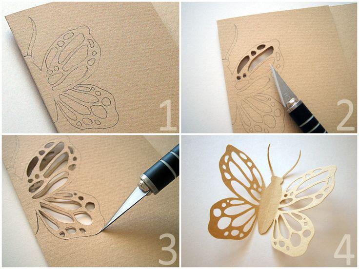 Как просто сделать узоры на бумаги
