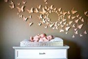 Фото 30 Бабочки на стене: 70 вдохновляющих фотоидей и мастер-класс по декору своими руками