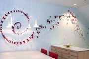 Фото 3 Бабочки на стене: 70 вдохновляющих фотоидей и мастер-класс по декору своими руками