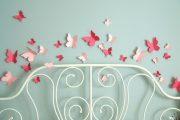 Фото 36 Бабочки на стене: 70 вдохновляющих фотоидей и мастер-класс по декору своими руками